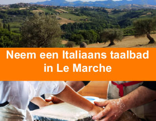 Through Italian language and craftswork: a unique experience in Le Marche